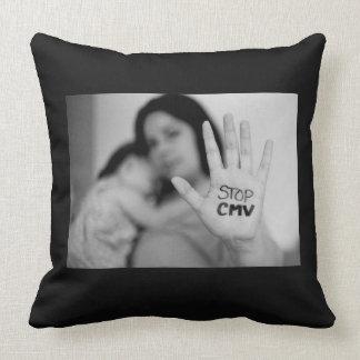 National CMV Throw Pillow