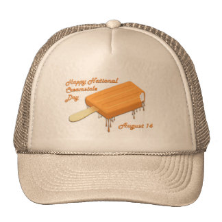 National Creamsicle Day August 14 Hats