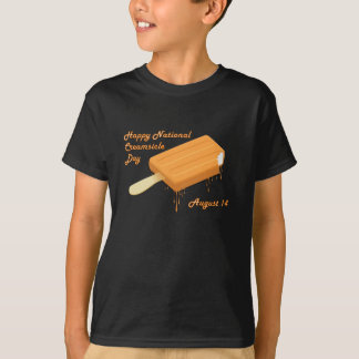 National Creamsicle Day August 14 T-Shirt