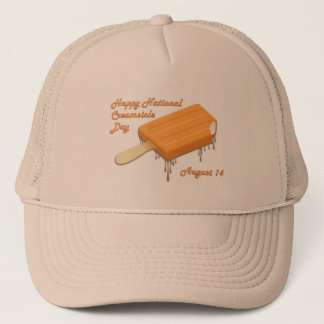 National Creamsicle Day August 14 Trucker Hat