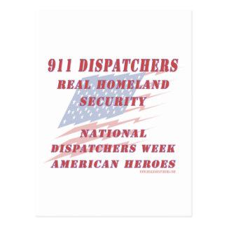 National Dispatchers Week American Heroes Postcard