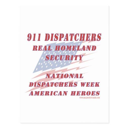 National Dispatchers Week American Heroes Post Cards