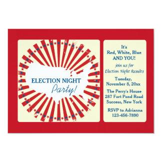 "National Election Night Party Invitation 5"" X 7"" Invitation Card"