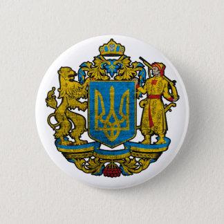 National Emblem Ukraine 6 Cm Round Badge