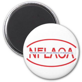 national financial literacy alliance of america, I 6 Cm Round Magnet