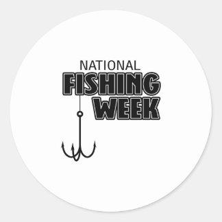 National Fishing Week Sticker