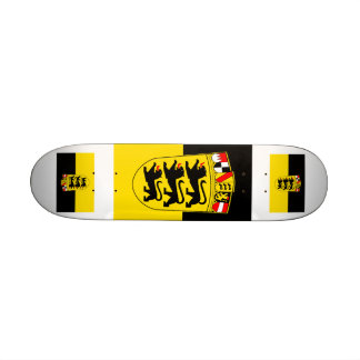 National flag Baden-Wuerttemberg Skateboards