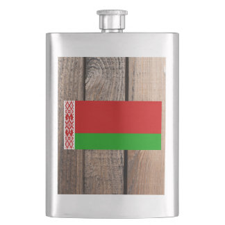 National Flag of Belarus Flasks
