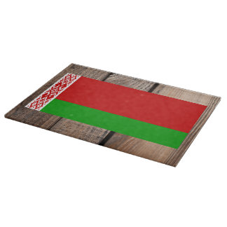 National Flag of Belarus Cutting Board