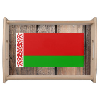 National Flag of Belarus Service Tray