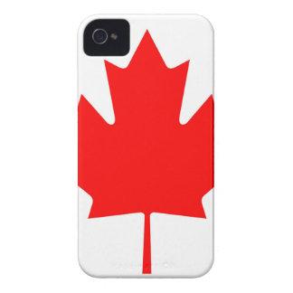 National Flag of Canada - Drapeau du Canada iPhone 4 Covers