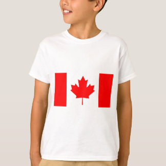 National Flag of Canada - Drapeau du Canada T-Shirt