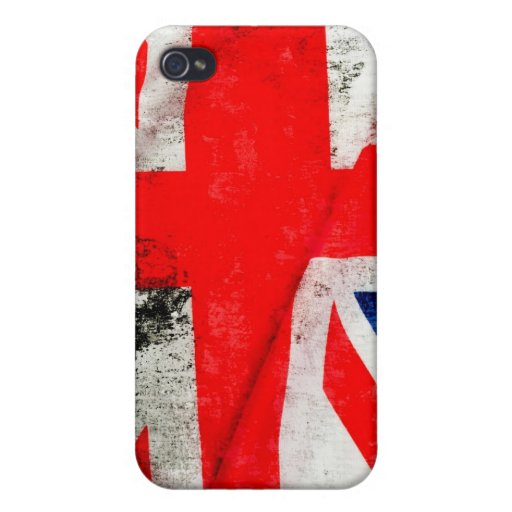 National Flag Of Great Britain Cover For iPhone 4