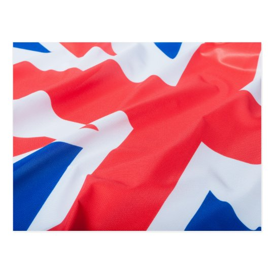 National Flag Of Great Britain Postcard