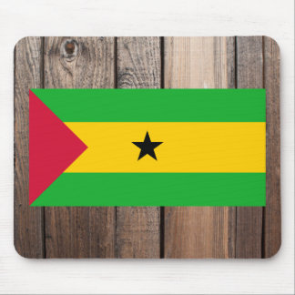National Flag of Sao Tome and Principe Mouse Pad