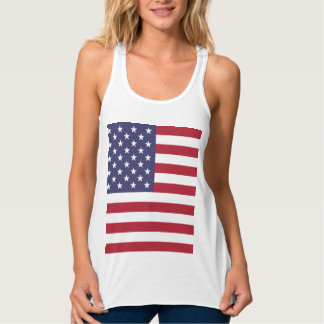 National Flag of the United States of America USA Tank Top
