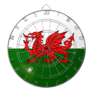 National Flag of Wales Button Dartboard