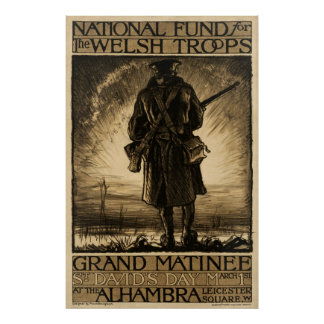 National Fund for Welsh Troops Posters