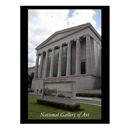 National Gallery of Art Postcard