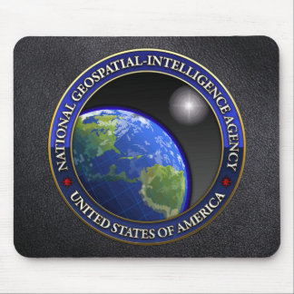 National Geospatial-Intelligence Agency (NGA) Mouse Mat
