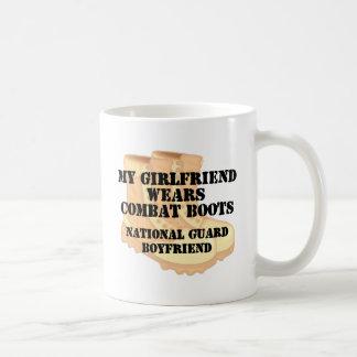 National Guard Boyfriend Desert Combat Boots Basic White Mug