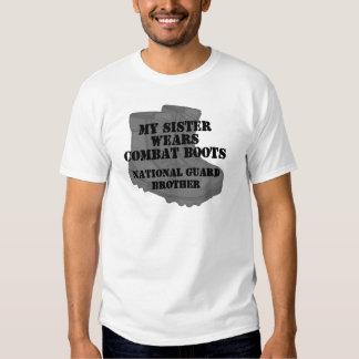 National Guard Brother Sister CB T-shirt