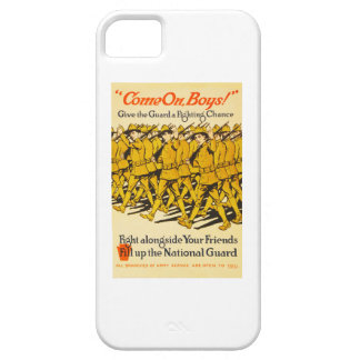 National Guard Come On Boys WWI Propaganda Case For The iPhone 5