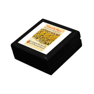 National Guard Come On Boys WWI Propaganda Gift Box
