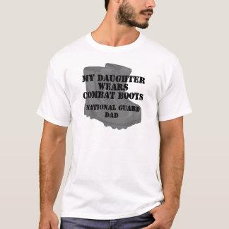 National Guard Dad Daughter wears CB T-Shirt