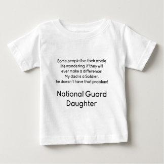 National Guard Daughter No Problem Dad Infant T-Shirt