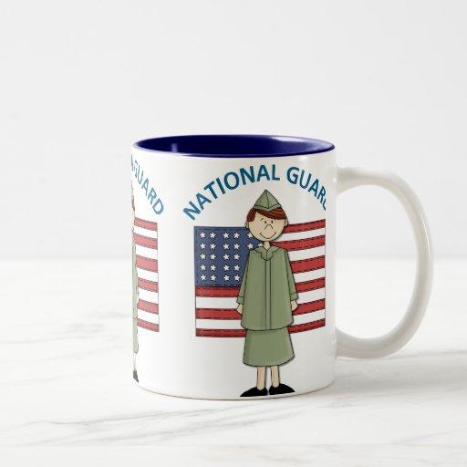 National Guard Female Customizable Mug