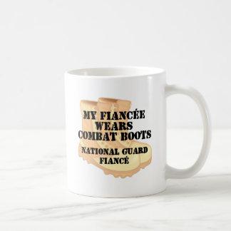 National Guard Fiance Desert Combat Boots Mug