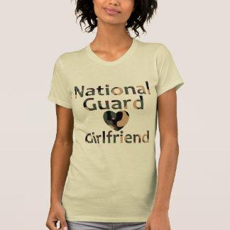 National Guard Girlfriend Heart Camo Tshirt