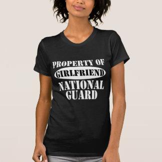 National Guard Girlfriend Property Tshirts