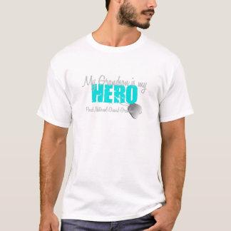 National Guard Grandma Grandson Hero T-Shirt