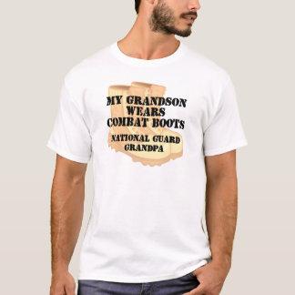 National Guard Grandpa Grandson DCB T-Shirt