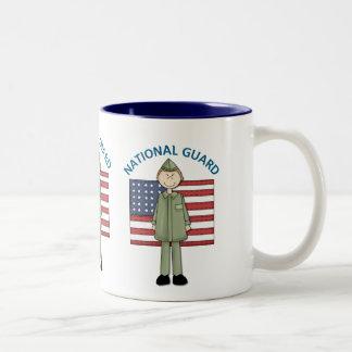 National Guard Male Customizable Two-Tone Mug