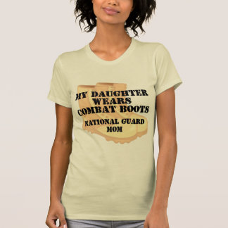 National Guard Mom Daughter DCB Tshirts