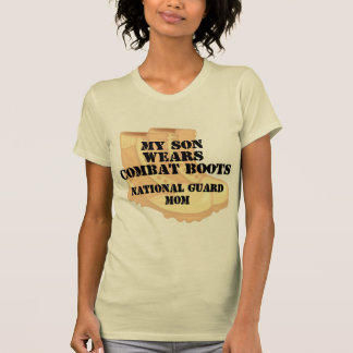 National Guard Mom Son DCB T-shirts