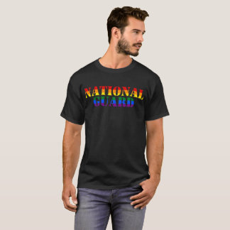 National Guard Rainbow LGBT Pride Military T-Shirt