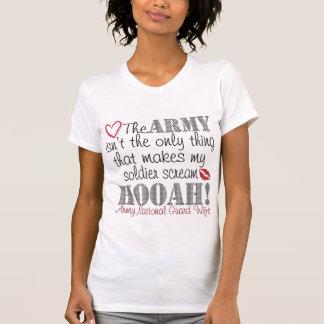 National Guard Scream HOOAH Tee Shirt