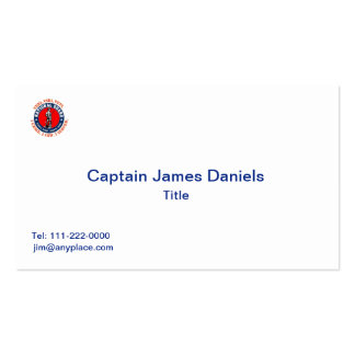 National Guard Shield Logo Pack Of Standard Business Cards