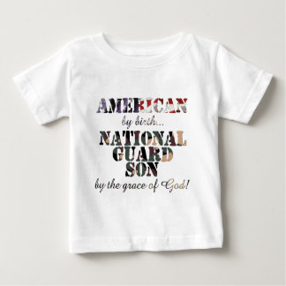 National Guard Son Grace of God Baby T-Shirt