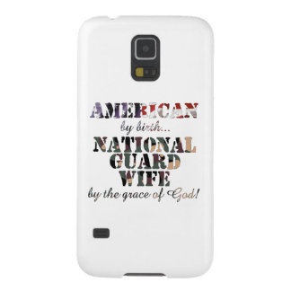 National Guard Wife Grace of God Cases For Galaxy S5