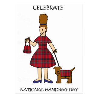 National Handbag Day October 10th Postcard