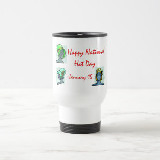 National Hat Day January 15 Stainless Steel Travel Mug
