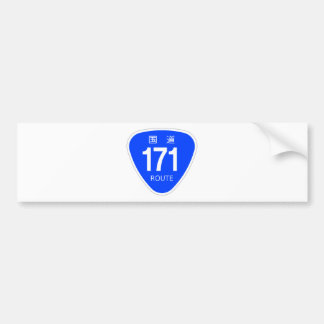 National highway 171 line - national highway sign bumper stickers
