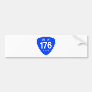 National highway 176 line - national highway sign bumper stickers