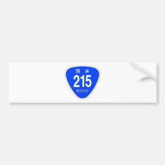 National highway 215 line - national highway sign bumper sticker