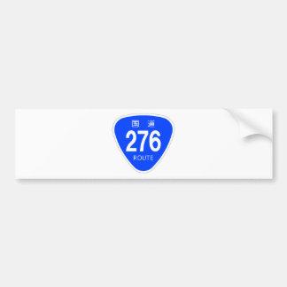National highway 276 line - national highway sign bumper sticker